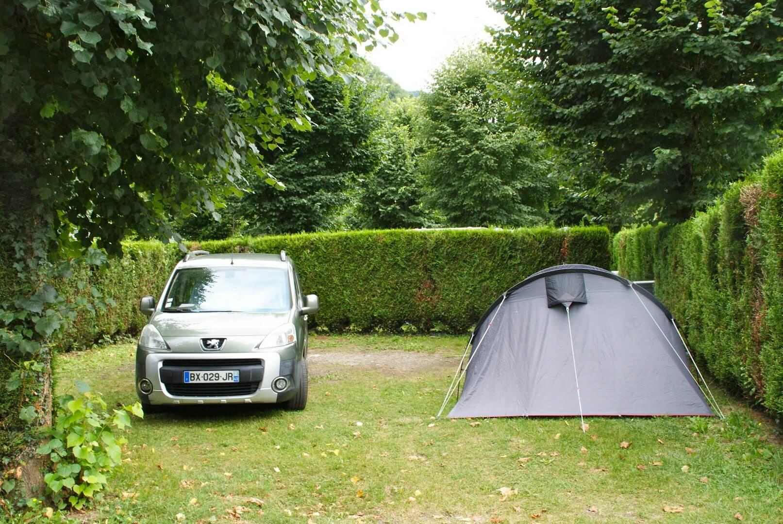 Emplacements Camping de la Vernière