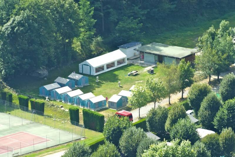 Base groupes au Camping La vernière